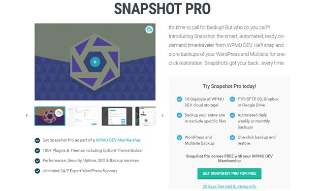 Snapshot-Pro